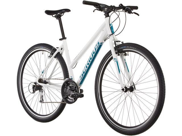 Serious Cedar Hybridcykel Hybrid hvid | City-cykler